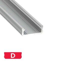 Paviršinis LED profilis D