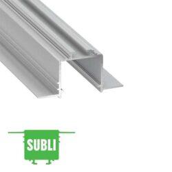 Užglaistomas LED profilis SUBLI