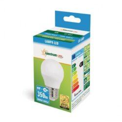 4W E27 LED lemputė BULB CW