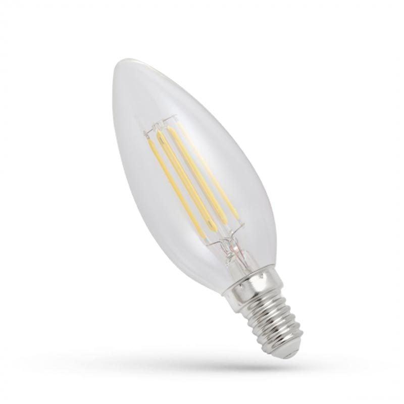 4W E14 LED lemputė COG CANDLE