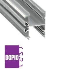 Sieninis LED profilis DOPIO
