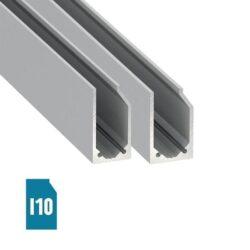 Stiklo LED profilis I10