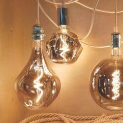 5W E27 LED lemputė Vintage Bumped Grey 2