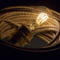3W E27 LED lemputė CURVED GOCCIA CLEAR 2