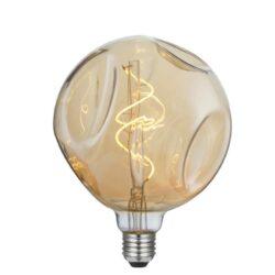 5W E27 LED lemputė Vintage Globo Bumped Gold