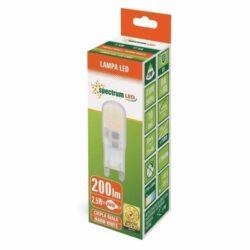 2.5W G9 LED lemputė