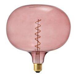 Vintažinė LED lemputė Coriandoli Cobble Pink