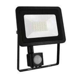 20W LED prožektorius NOCTIS2 SENS juodas