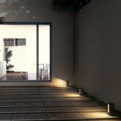 Pastatomas lauko šviestuvas Treeza LED 25