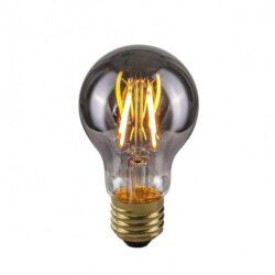 Dekoratyvinė lemputė E27 4W A60 Smoke