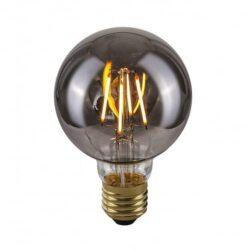 Dekoratyvinė lemputė E27 4W G80 Smoke
