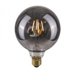 Dekoratyvinė lemputė E27 4W G125 Smoke