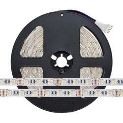 19.2W 12V RGB+WW IN1 LED juosta