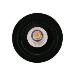 Įmontuojamas kryptinis LED šviestuvas Hiden BK