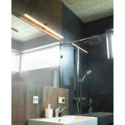 Sieninis šviestuvas FINGER90 BK