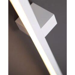 Sieninis šviestuvas FINGER90 WH
