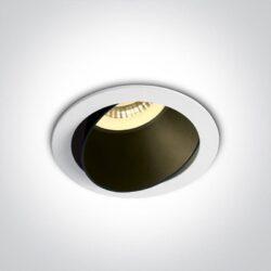 Įmontuojamas kryptinis šviestuvas 11105M/W/B
