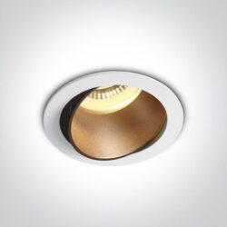 Įmontuojamas kryptinis šviestuvas 11105M/W/BS