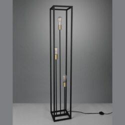 Pastatomas šviestuvas Vito matinis juodas