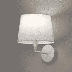 Sieninis šviestuvas Lisa Baltas