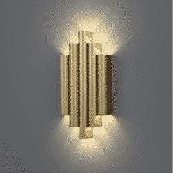 Sieninis šviestuvas Robin Auksinis
