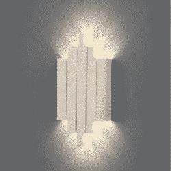 Sieninis šviestuvas Robin Baltas