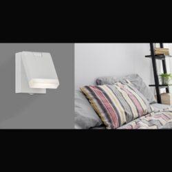 Sieninis šviestuvas Cora