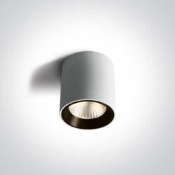 Lubinis LED šviestuvas 12107K/W/W DIMM