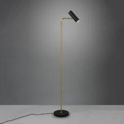 Pastatomas šviestuvas Marley juoda/žalvaris