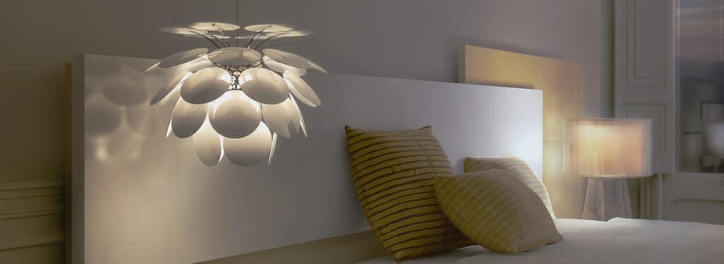 Romantiškas miegamasis - kaip sukurti jaukią atmosferą?