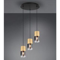 Pakabinamas šviestuvas Robin 3 žalvaris