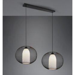 Pakabinamas šviestuvas Filo 2 juoda