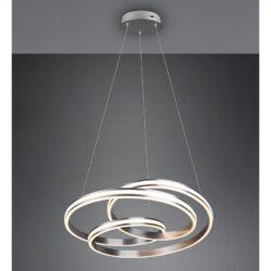 Pakabinamas LED šviestuvas Yara nikelis