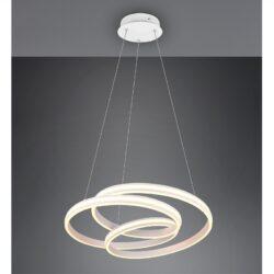 Pakabinamas LED šviestuvas Yara balta