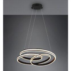 Pakabinamas LED šviestuvas Yara juoda