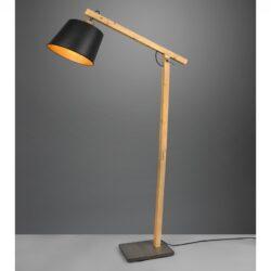 Pastatomas šviestuvas Harris juoda