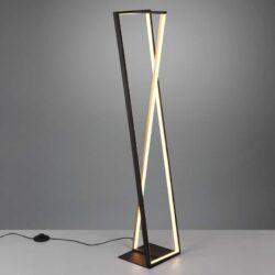 Pastatomas LED šviestuvas Edge juoda