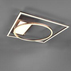 Lubinis LED šviestuvas Downey Dimm nikelis