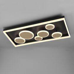 Lubinis LED šviestuvas Harriet auksinis 80cm