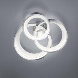 Lubinis LED šviestuvas Granada 3 chromas