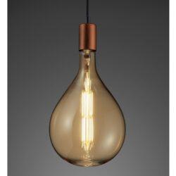 8W E27 dimeriuojama LED lemputė Tropfen
