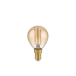 2W E14 2700K LED lemputė Tropfen Amber