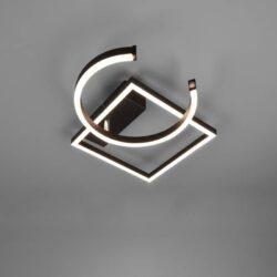 Lubinis LED šviestuvas Pivot juoda
