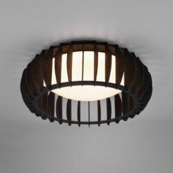 Lubinis LED šviestuvas Monte juoda ⌀40