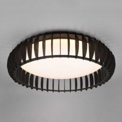Lubinis LED šviestuvas Monte juoda ⌀60