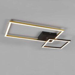Lubinis LED šviestuvas Padella žalvaris