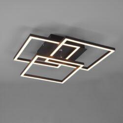 Lubinis LED šviestuvas Mobile juoda