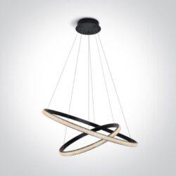 Pakabinamas LED šviestuvas Crystal Swirl 2