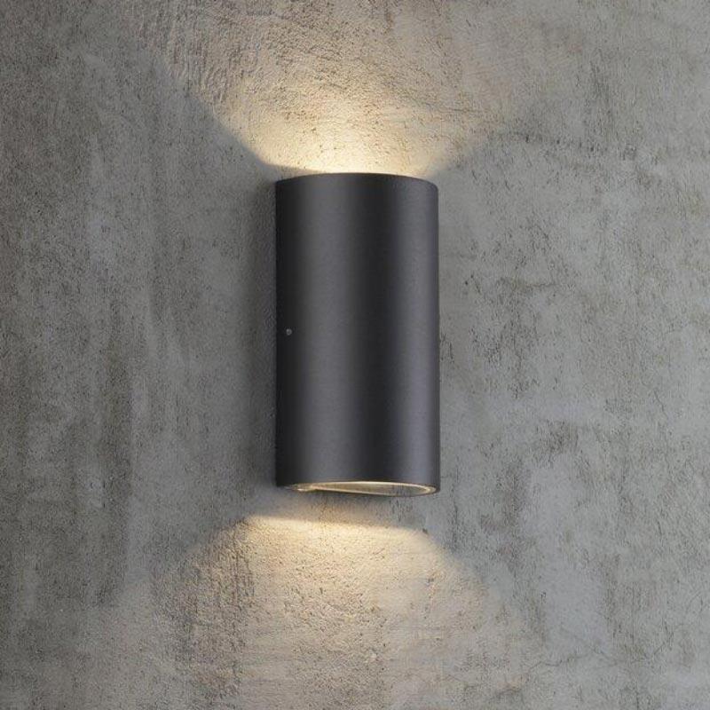 Sieninis lauko šviestuvas Rold juodas